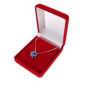 ANA Earrings / pendant Jewellery box - Red