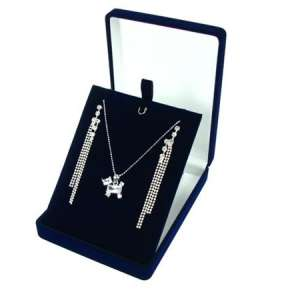 ANA Necklace Jewellery box - Blue