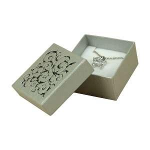 Pudełko LENA uniw.małe srebrne+Czarny