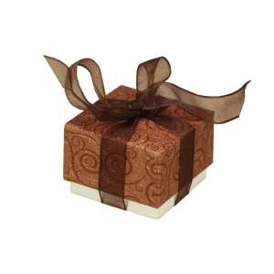 SONALI Ring Jewellery Box - brown