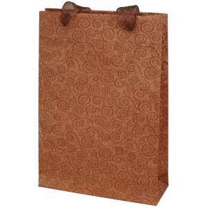 SONALI bag with organza ribbon  18x26x6cm