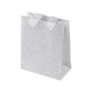GINA Paper Bag 12x15x6 cm. - Silver