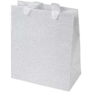 GINA Paper Bag 19x23x10 cm. - Silver