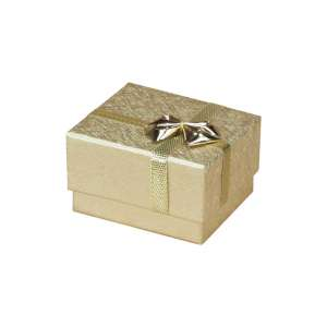 RITA  Ring Jewellery Box - Gold