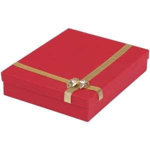 RITA Neckalce Jewellery Box - Red