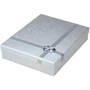 RITA Neckalce Jewellery Box - Silver