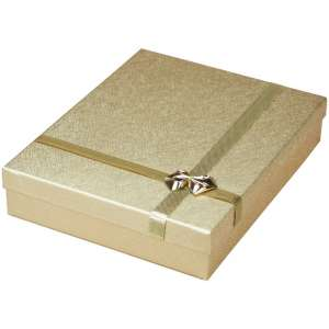 RITA Neckalce Jewellery Box - Gold