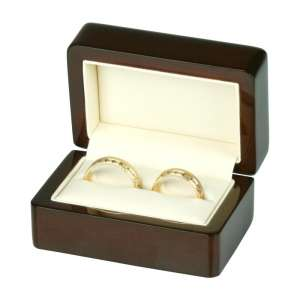 FORTE Wedding Rings Jewellery Box brown