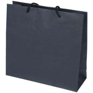 CARLA Paper Bag 240x230x90mm. - black