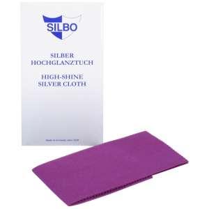 High Shine silver cloth 30x24 cm.