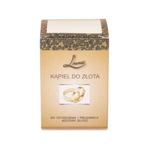 LUNA Cleaning Bath for Gold jewellery 70 ml.