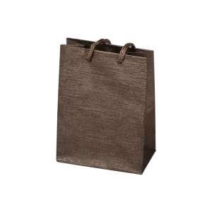 TINA Paper Bag 9x12x5 cm. brown