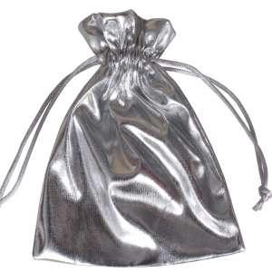 Jewellery Pouch 12x16 cm. - Silver