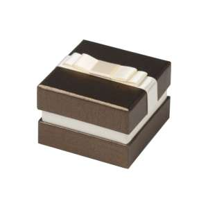 DIANA Ring Jewellery Box - brown