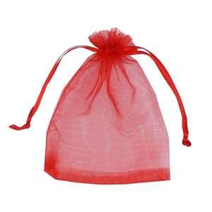 Organza Bag 9x12 cm. - Red