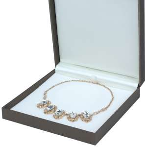 LARA Necklace Jewellery Box - brown