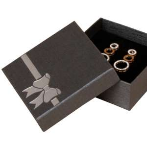 TINA BOW Big Set Jewellery Box - Graphite