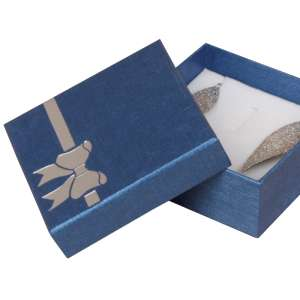 TINA BOW Big Set Jewellery Box - Blue