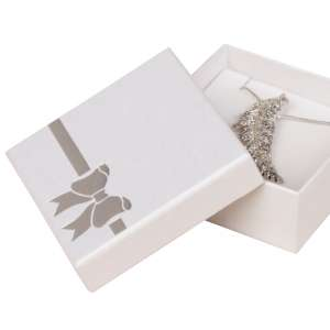 TINA BOW Big Set Jewellery Box - White