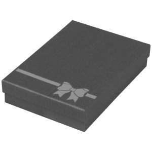 TINA BOW Neckalce Jewellery Box - Graphite