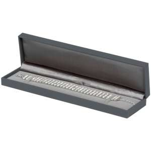 IDA  Bracelet Jewellery Box - grey