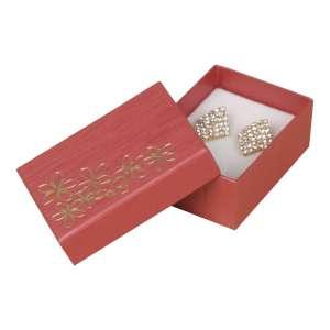TINA FLOWERS Small Set Jewellery Box - Burgundy