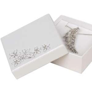 TINA FLOWERS Big Set Jewellery Box - White