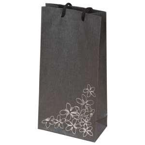 TINA FLOWERS Paper Bag 12x24x6 cm. Graphite