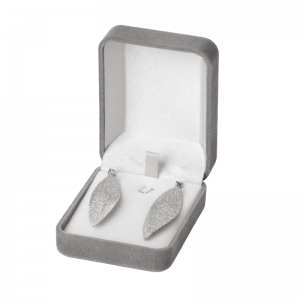 EMMA Earring Jewellery Box - grey