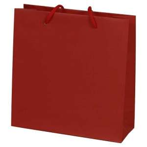 MAYA Paper Bag 240x230x90mm. - burgundy