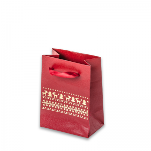 EMI Paper Bag 8x11x5 cm. Reindeers