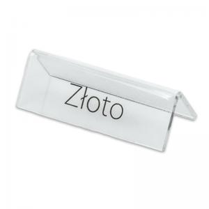 """Stand with print """"Złoto"""""""