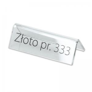 """Stand with print """"Złoto 333"""""""