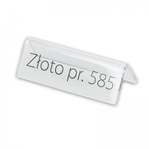 """Stand with print """"Złoto 585"""""""