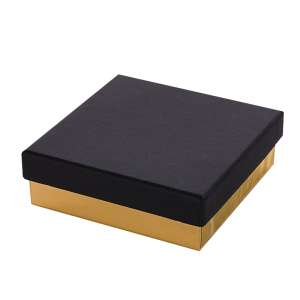 CARLA Big Set Jewellery Box - black/gold