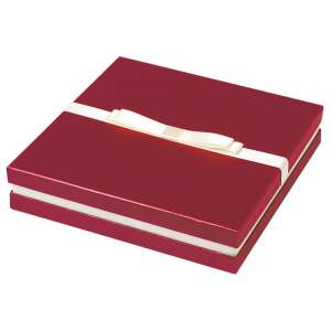 DIANA Necklace Jewellery Box - burgundy