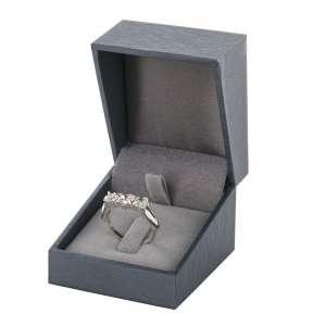 DARIA Ring Jewellery Box - graphite