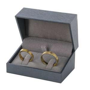 DARIA Wedding Rings Jewellery Box - graphite