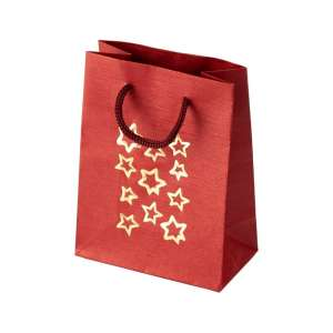 TINA Paper Bag 9x12x5 cm. Stars