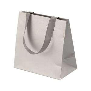 ADELA Paper Bag 15x8x15 cm. Silver