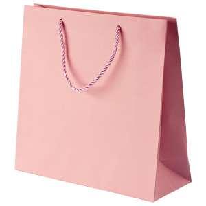 CARLA Paper Bag 240x230x90mm. - pink